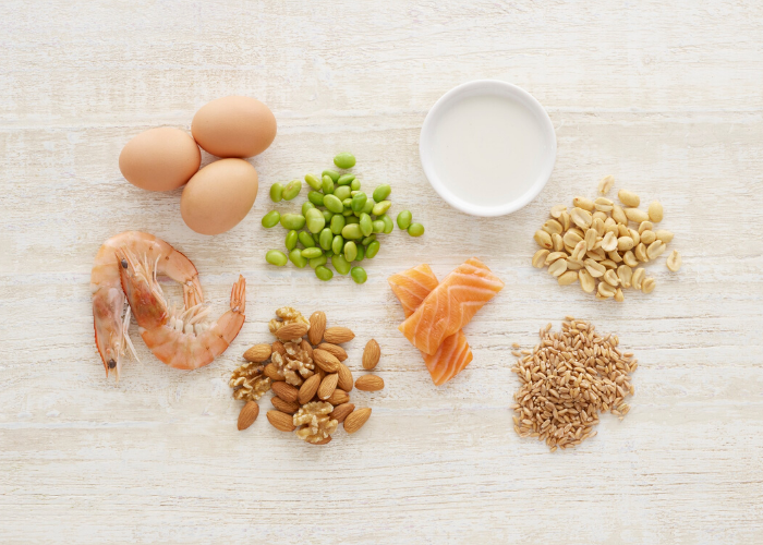 Common food allergens